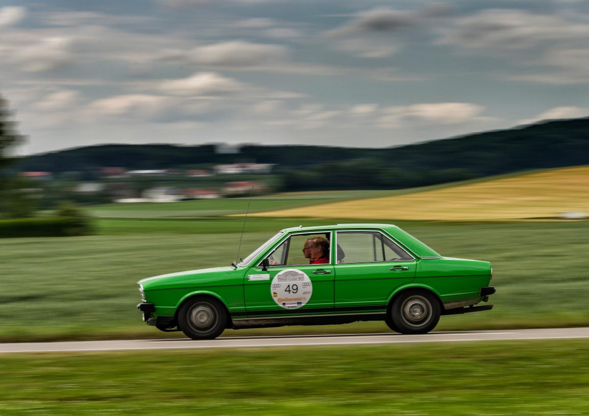 Audi Tradition bei der Donau-Classic 2013