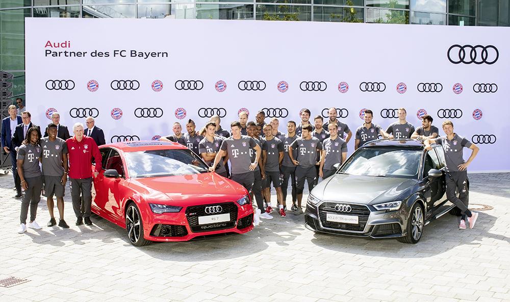 FC Bayern starts the season with Audi
