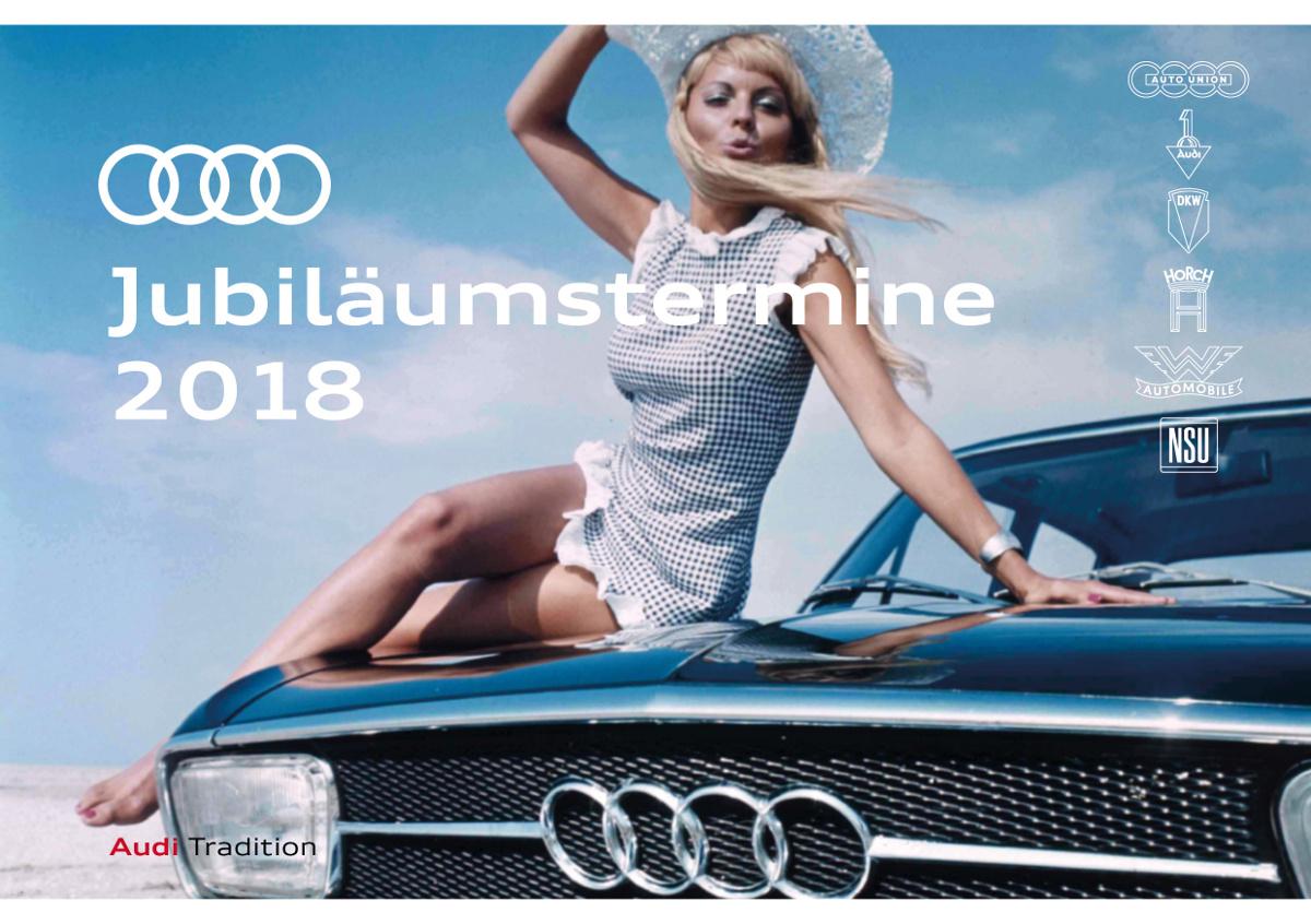 Audi JubilAi??umstermine 2018
