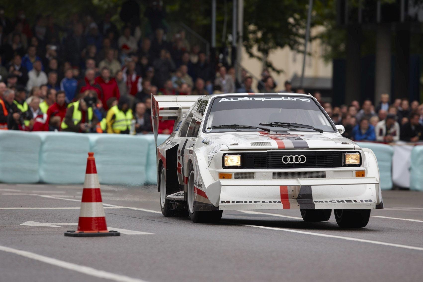Audi beim Donauringrennen 2009